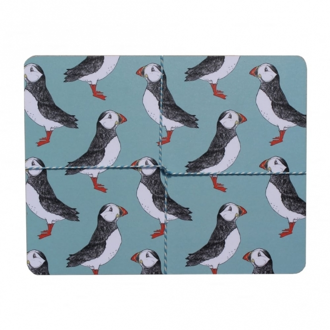 Martha And Hepsie Puffin Billy Placemats - Set of 4