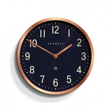 Master Edwards Wall Clock - Radial Copper