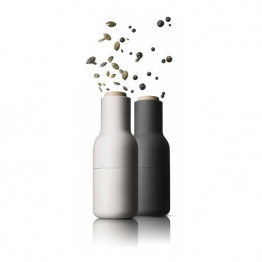 Bottle Grinders Salt & Pepper Set in Ash & Carbon