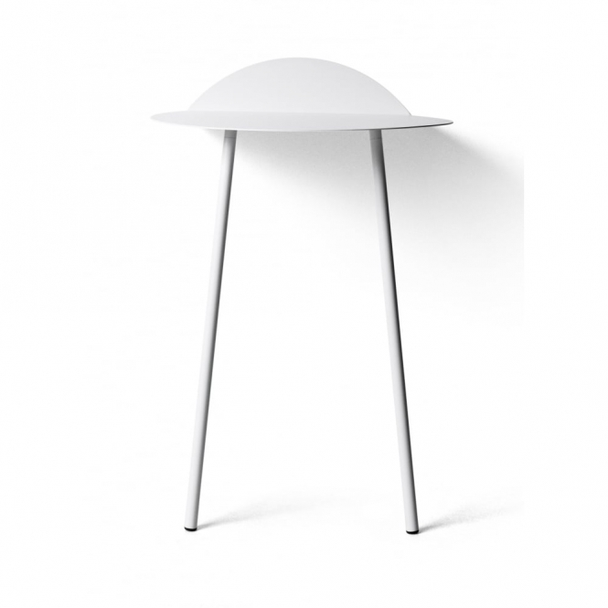 Menu A/S Yeh Tall Wall Table - White