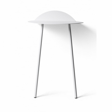 Yeh Tall Wall Table - White