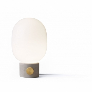 JWDA Concrete Table Lamp Light Grey/Brass