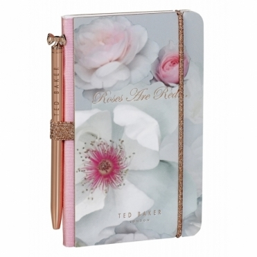 Mini Notebook & Pen - Chelsea Border