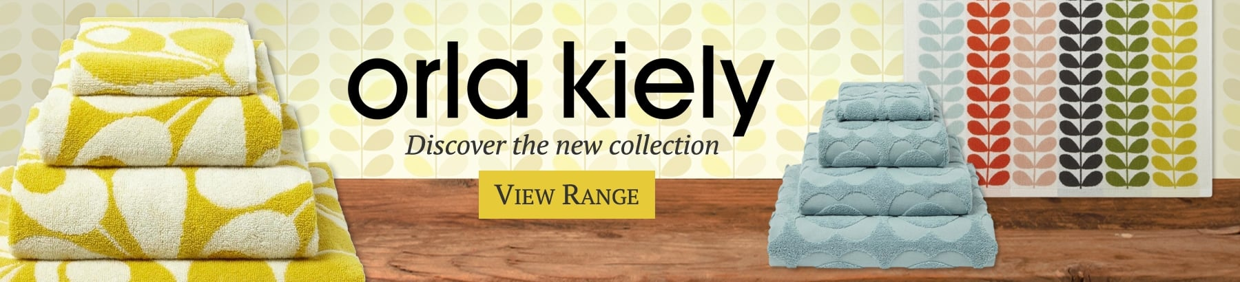 Orla Kiely Towels