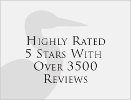 Highly Rated 5 Stars With Over 3500 Reviews