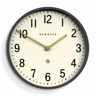 Mr Edwards Wall Clock - Moonstone Grey