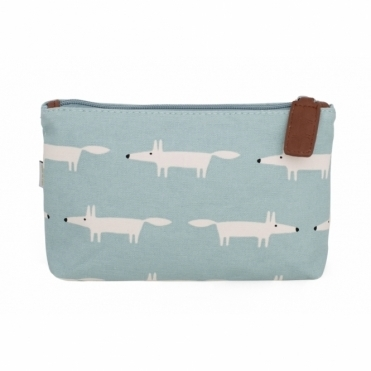 Mr Fox Cosmetic / Wash Bag Sky - Medium