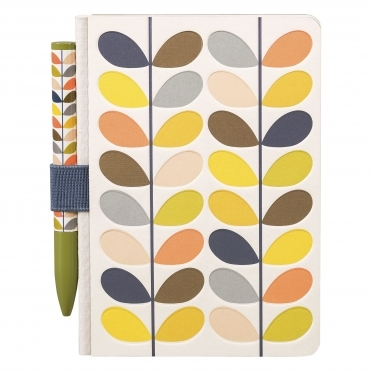 Multi Stem Pocket Notebook And Pen Set
