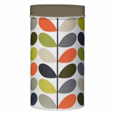 Multi Stem Storage Tin Canister