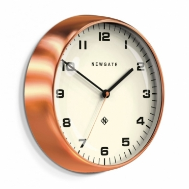 Chrysler Wall Clock - Radial Copper