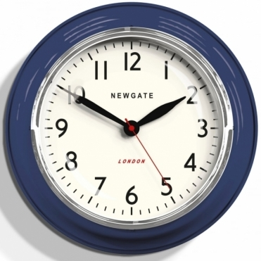 Cookhouse Wall Clock - Inkwell Blue