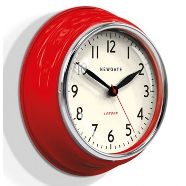 Cookhouse Wall Clock - Red
