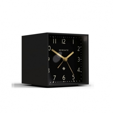 Cubic Alarm Clock - Gravity Grey / Black Dial