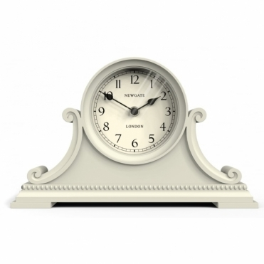 Gatekeeper's Mantel Clock Gorgeous Cream