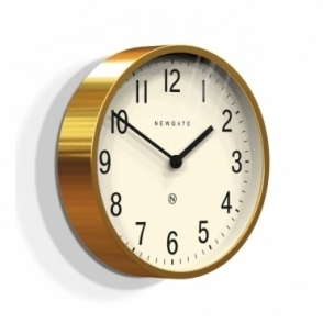 Master Edwards Wall Clock - Radial Brass