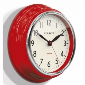 Mini Cookhouse Wall Clock - Red