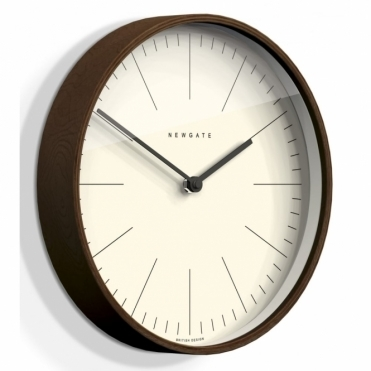 Mr Clarke Dark Wood 53cm Wall Clock