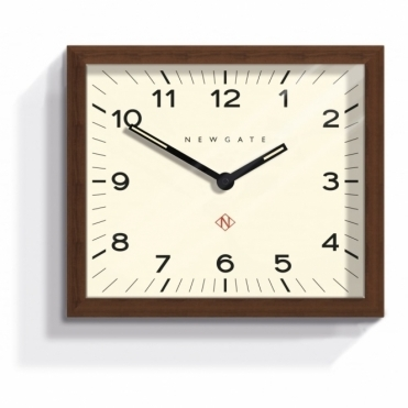 Mr Davies Wood Wall Clock
