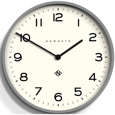 Number One Echo Wall Clock - Posh Grey