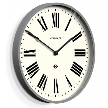 Number One Italian Wall Clock - Posh Grey