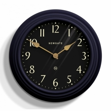 Pimlico Wall Clock - Petrol Blue