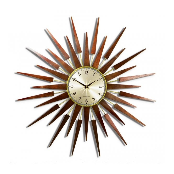 Newgate Clocks Pluto Starburst Wall Clock