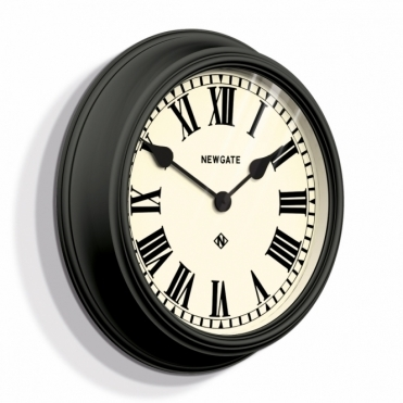 Theatre Wall Clock - Black