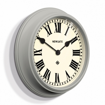 Theatre Wall Clock - Overcoat Grey