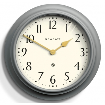 Westhampton Wall Clock - Posh Grey