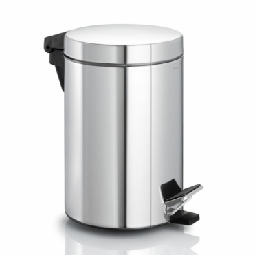 Nexio Pedal Bin 2.5L - Polished Stainless Steel