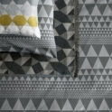 Niki Jones Isosceles Grey - Housewife Pillowcase