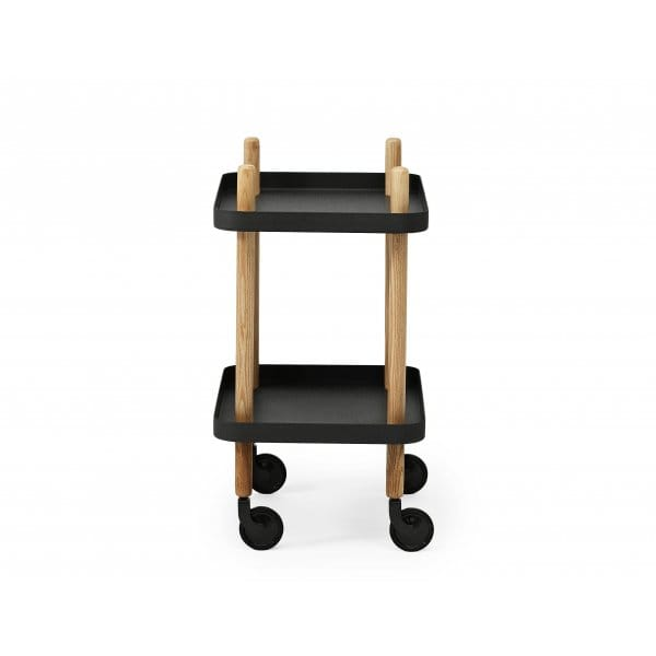 normann copenhagen block side table black hurn and hurn. Black Bedroom Furniture Sets. Home Design Ideas