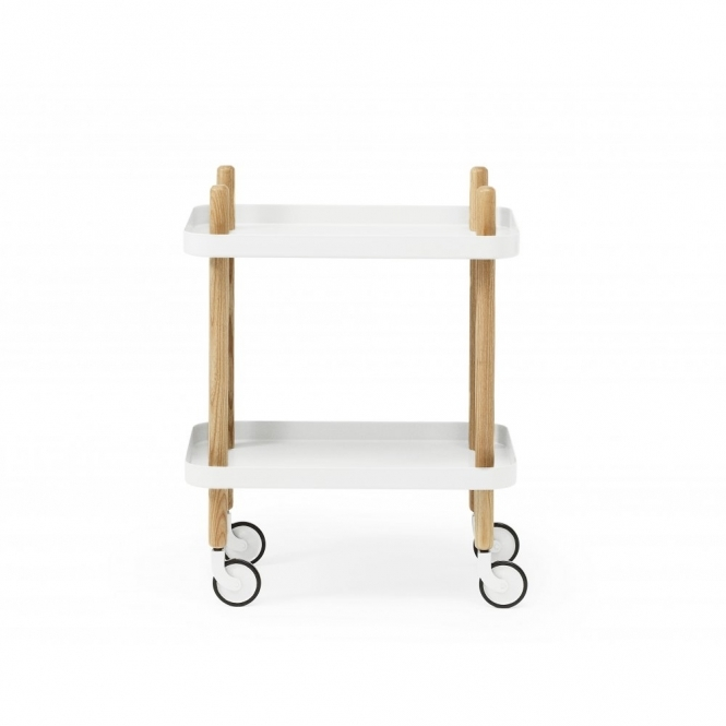 Normann Copenhagen Block Side Table White