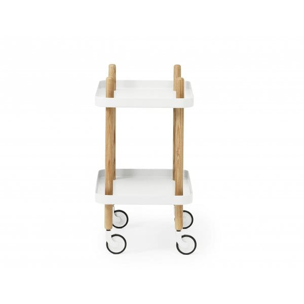 normann copenhagen block side table white hurn and hurn. Black Bedroom Furniture Sets. Home Design Ideas