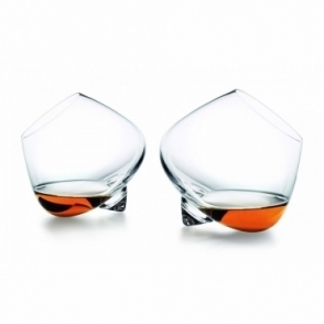 Liqueur Rocking Glasses Pair