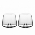 Normann Copenhagen Whisky Glasses Set of 2 Glass Whisky Tumblers