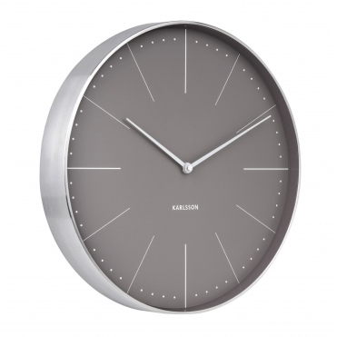 Normann Station Wall Clock - Grey