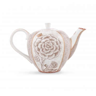 Off White / Cream Small Teapot