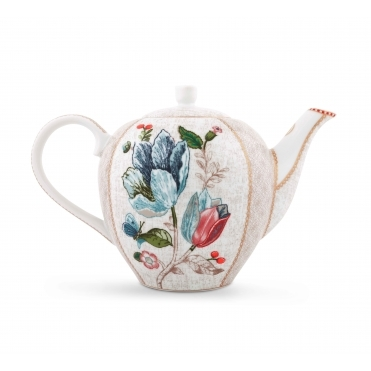 Off White / Cream Teapot