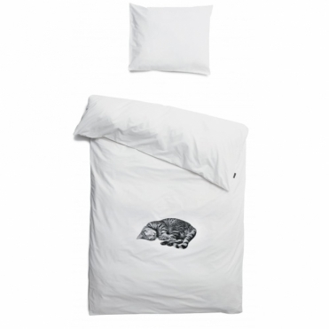 Ollie the Cat Single Duvet Cover & Pillowcase Set
