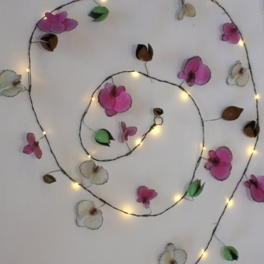 Orchid Garland LED String Lights - Indoor / Outdoor