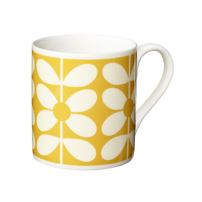 Orla Kiely House 60s Stem Yellow Mug