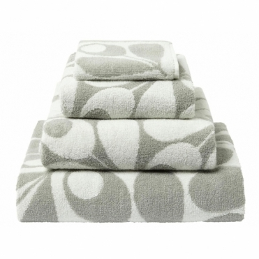 Acorn Cup Towels - Light Granite