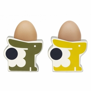 Bonnie Bunny Egg Cups Seagrass & Sunshine - Set of 2