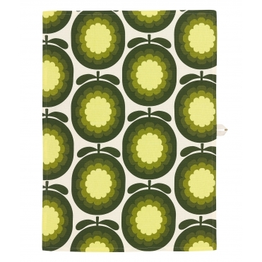 Cantaloupe Melon Olive Tea Towels Pair - Set of 2