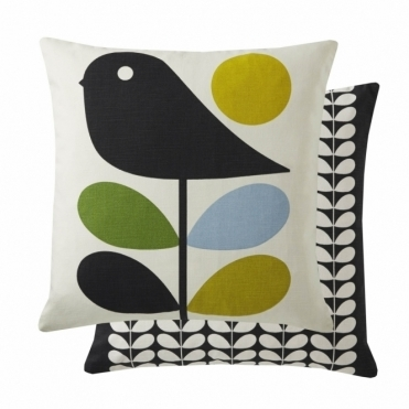 Early Bird Cushion - Duck Egg