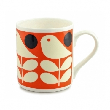 Early Bird Mug - Orange