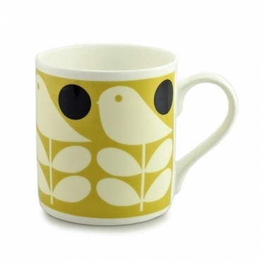 Early Bird Mug - Yellow
