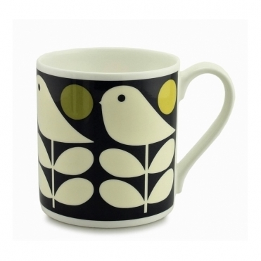Early Bird Navy Quite Big Mug - Large