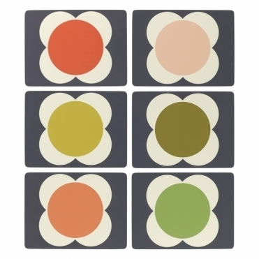 Flower Spot Placemats - Set of 6